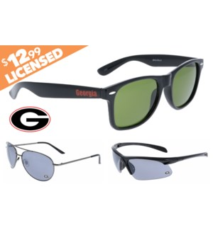 Georgia NCAA® Sunglasses Promo