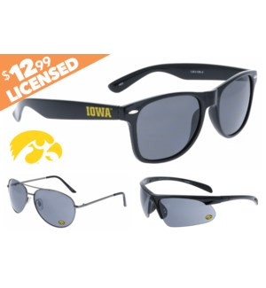 Iowa NCAA® Sunglasses Promo