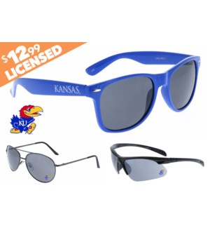 Kansas NCAA® Sunglasses Promo