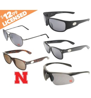 Nebraska NCAA Sunglasses Promo