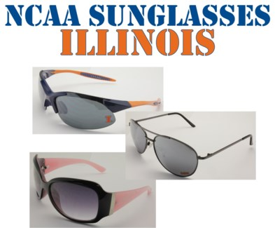 NCAA Sunglasses Illinois