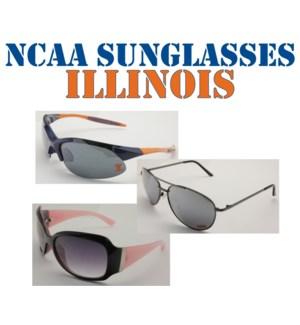 NCAA Sunglasses Illinois