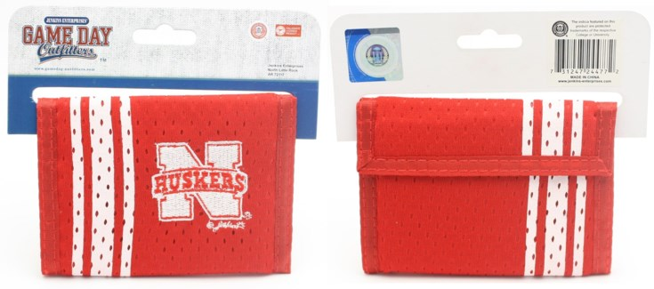 NCAA NE Husker Men's Wallets