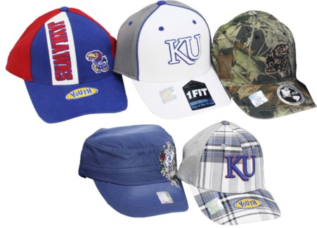 NCAA Kansas Jayhawks Baseball Caps