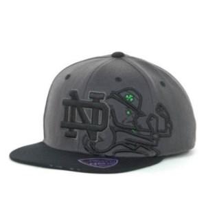 Notre Dame 3 Bar Hat (Navy)