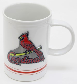 MLB 16oz Varisity Mug St. Louis Cardinals