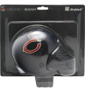 Chicago Bears Bank Helmet