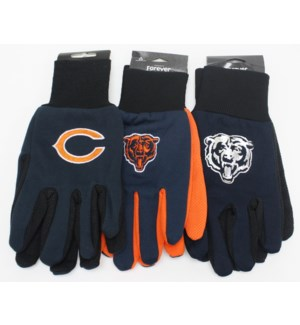 NFL Gloves Chicago Bears