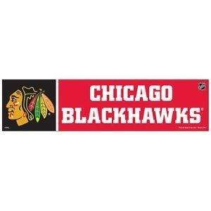 Blackhawks Bumper Sicker