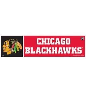 Blackhawks Bumper Sicker