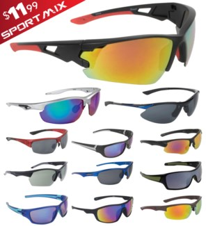 iShield Red Tag Sunglasses Sports Mix
