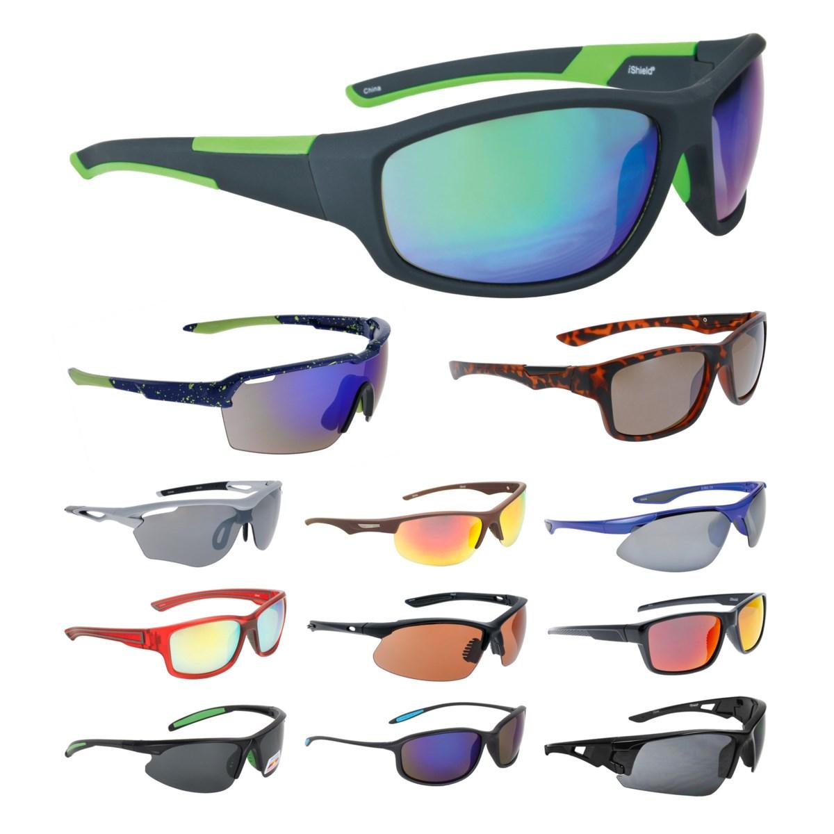 iShield Black Tag Sunglasses Sport Mix