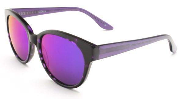 Atlantis Luxury Handmade Sunglasses (Purple Demi)