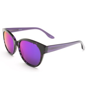 Atlantis Luxury Handmade Sunglasses (Purple Demi)