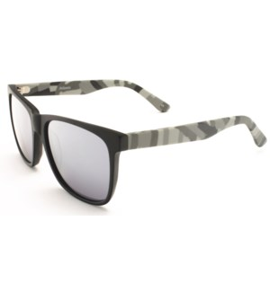 Atlantis Luxury Handmade Sunglasses (Matte Solid Black)