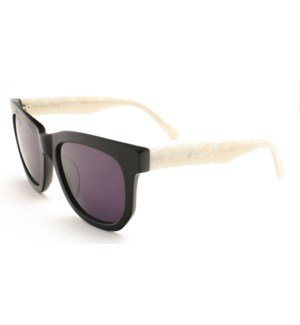 Atlantis Luxury Handmade Sunglasses (Shiny Black)