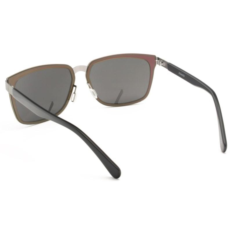 Atlantis Luxury Handmade Sunglasses (Purple Silver/Matte Gun)