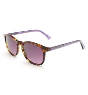 Atlantis Luxury Handmade Sunglasses (Purple Pattern)