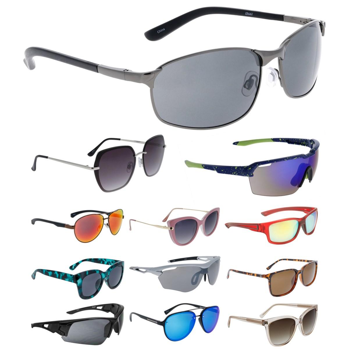 iShield Black Tag Sunglasses Mix - Sport, Men's, Women's