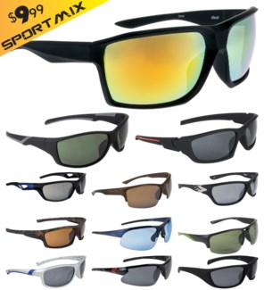 iShield Gold Tag Sunglasses Sport Mix