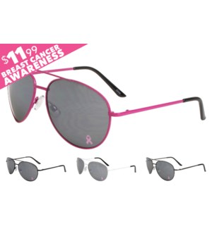 Aviator Sunglasses $11.99 National Breast Cancer Foundation
