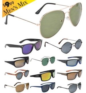 iShield Gold Tag Sunglasses Men's Mix
