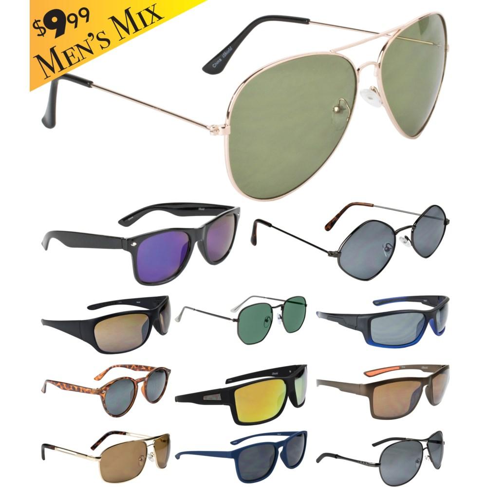 iShield Gold Tag Sunglasses Men's Mix