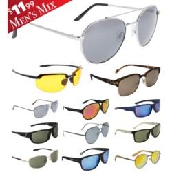 iShield Red Tag Sunglasses Men's Mix