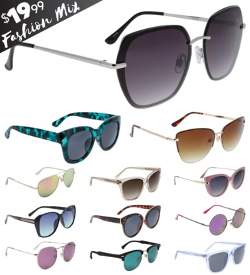 iShield Black Tag Sunglasses Women's Mix