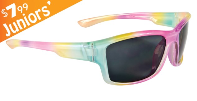 Junior Rainbow Splash $7.99 Sunglasses