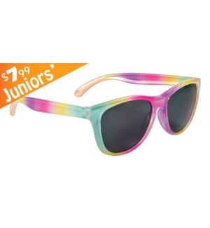 Junior Rainbow Wave $7.99 Sunglasses