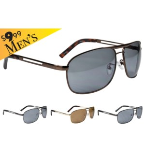 Carmet Men's $9.99 Sunglasses