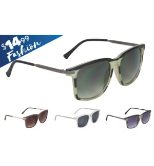 Carolina Fashion $14.99 Sunglasses