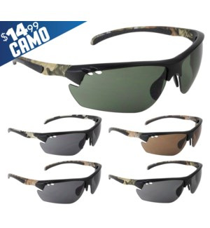 Gunnison Camo $14.99 Sunglasses