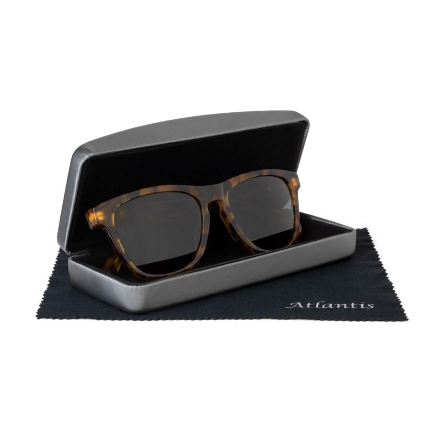 Lukas Atlantis Luxury Handmade Glasses (Shiny Demi)