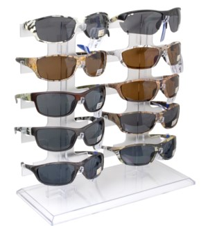 iShield $14.99 Camo Sunglasses Counter Display - 24pcs
