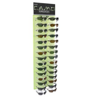 iShield $14.99 Camo Sunglasses Side Panel - 36pcs