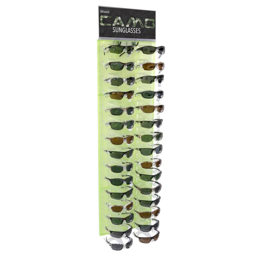 iShield $14.99 Camo Sunglasses Side Panel - 36pcs