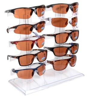 iShield $14.99 Open Road Sunglasses Counter Display - 24pcs