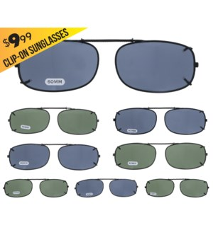 iShield $9.99 Clip On Sunglasses - Denham