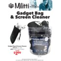 Gadget Bag & Screen Cleaner in 48 pc Counter Display