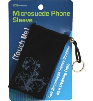 Microsuede Phone Sleeve