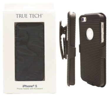 Phone Holster with Kickstand for iPhone 5