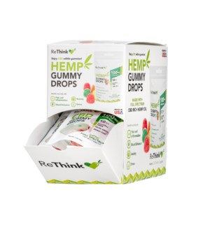 ReThink Hemp CBD Gummy Drops 10ct