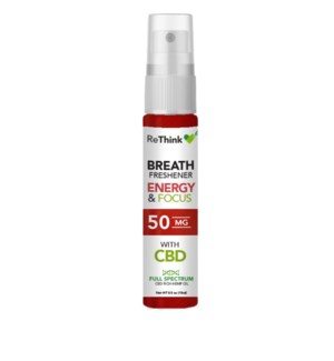 ReThink Energy & Focus Breath Spray 50mg
