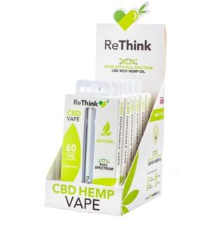 ReThink Hemp Disposable Vape Pen - Natural