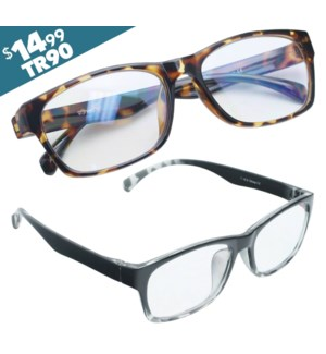 iShield Anti-Reflective Reading Glasses - Cameron