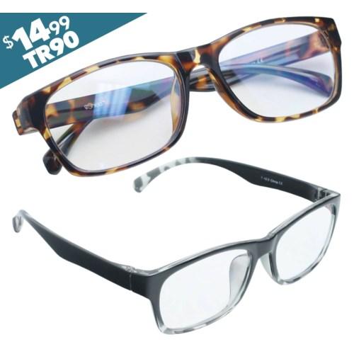 iShield Anti-Reflective Reading Glasses - Cameron