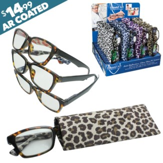 iShield Leopard Print Reader with Case - Savannah