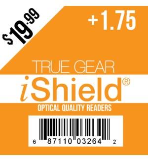 $19.99 Reader +1.75 iShield